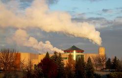 ατμοσφαιρική ρύπανση Στοκ εικόνες με δικαίωμα ελεύθερης χρήσης