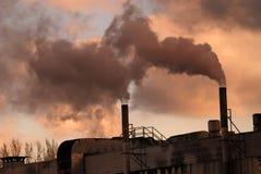 ατμοσφαιρική ρύπανση Στοκ φωτογραφίες με δικαίωμα ελεύθερης χρήσης