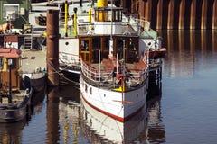 Ατμόπλοιο κουπιών Στοκ Φωτογραφία