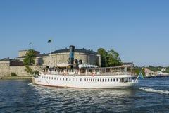 Ατμόπλοιο S/S Storskaer επιβατών Στοκ Εικόνες