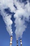 ατμός εργοστασίων Στοκ εικόνα με δικαίωμα ελεύθερης χρήσης