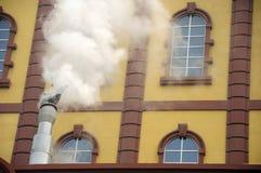 Ατμός και ευρωπαϊκή αρχιτεκτονική Κίνα Στοκ εικόνες με δικαίωμα ελεύθερης χρήσης