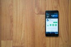 Ατμός στο smartphone Στοκ εικόνες με δικαίωμα ελεύθερης χρήσης