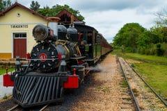 Ατμός-τραίνο Στοκ Εικόνες