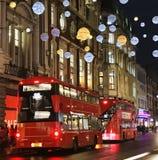 Ατμόσφαιρα Christmas' στο Λονδίνο στοκ εικόνα με δικαίωμα ελεύθερης χρήσης