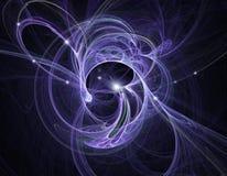 ατομικό fractal σύγκρουσης διανυσματική απεικόνιση