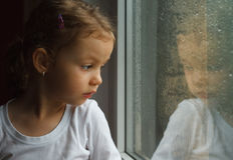 λατρευτό μικρό παιδί κορι&ta Στοκ Φωτογραφίες