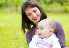 λατρευτό μωρό Στοκ Εικόνες