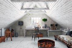 Αττικό εσωτερικό λουτρών Στοκ Φωτογραφία