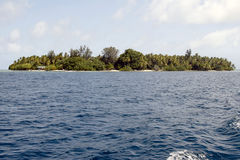 ατόλλη maldivian Στοκ εικόνα με δικαίωμα ελεύθερης χρήσης