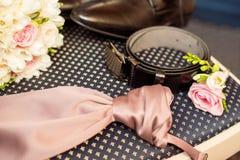 Ατόμων που τίθενται για το γάμο Στοκ εικόνες με δικαίωμα ελεύθερης χρήσης