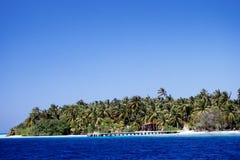 Ατόλλη Μαλδίβες Felidu Στοκ Φωτογραφία