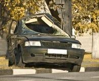 ατύχημα θανατηφόρο στοκ φωτογραφία