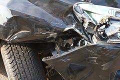 Ατύχημα ροδών Στοκ Εικόνες