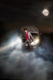 Ατύχημα στη νύχτα στοκ φωτογραφία με δικαίωμα ελεύθερης χρήσης