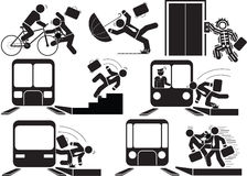 Ατύχημα τραίνων Στοκ φωτογραφίες με δικαίωμα ελεύθερης χρήσης