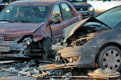 ατύχημα AR Στοκ Εικόνα