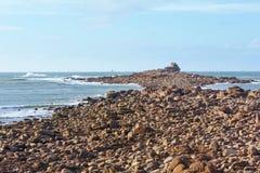 Ατλαντική άποψη άνοιξη ακτών Στοκ φωτογραφίες με δικαίωμα ελεύθερης χρήσης
