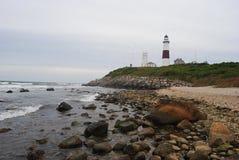 Ατλαντική ακτή στο κρατικό πάρκο σημείου Montauk στοκ φωτογραφία με δικαίωμα ελεύθερης χρήσης