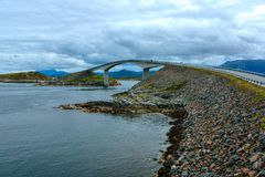 ατλαντικός δρόμος της Νο&rho Στοκ φωτογραφία με δικαίωμα ελεύθερης χρήσης