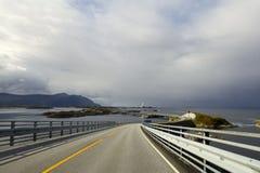 Ατλαντικός δρόμος στοκ εικόνες με δικαίωμα ελεύθερης χρήσης