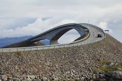 Ατλαντικός δρόμος Στοκ εικόνα με δικαίωμα ελεύθερης χρήσης