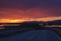 ατλαντικός δρόμος Στοκ φωτογραφίες με δικαίωμα ελεύθερης χρήσης