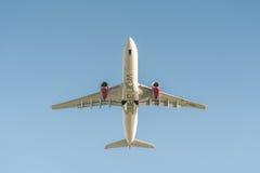 Ατλαντικό airbus της Virgin A330 στοκ εικόνα