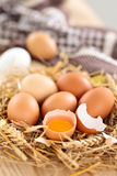 Αυγά αγροτών Στοκ Εικόνα