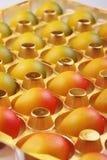 Αυγά αμυγδαλωτού Στοκ Εικόνες