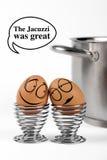 αυγά αστεία Απεικόνιση αποθεμάτων