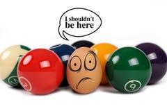 αυγά αστεία Ελεύθερη απεικόνιση δικαιώματος