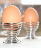 αυγά δύο προγευμάτων Στοκ εικόνα με δικαίωμα ελεύθερης χρήσης