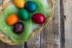Αυγά διακοπών Πάσχας στοκ εικόνες