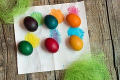 Αυγά διακοπών Πάσχας Στοκ φωτογραφίες με δικαίωμα ελεύθερης χρήσης