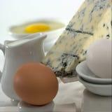Αυγά και γαλακτοκομικά προϊόντα Στοκ φωτογραφία με δικαίωμα ελεύθερης χρήσης