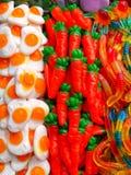 Αυγά και καρότα στοκ εικόνες με δικαίωμα ελεύθερης χρήσης