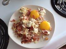 Αυγά και μπέϊκον Στοκ φωτογραφία με δικαίωμα ελεύθερης χρήσης