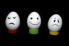 Αυγά και συγκινήσεις Στοκ φωτογραφία με δικαίωμα ελεύθερης χρήσης