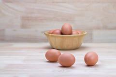 Αυγά κότας Στοκ εικόνες με δικαίωμα ελεύθερης χρήσης