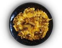 Αυγά με chorizo στοκ εικόνες με δικαίωμα ελεύθερης χρήσης