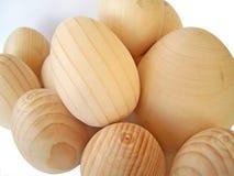 αυγά ξύλινα Στοκ φωτογραφία με δικαίωμα ελεύθερης χρήσης