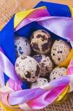 Αυγά ορτυκιών Στοκ φωτογραφία με δικαίωμα ελεύθερης χρήσης