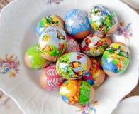 Αυγά Πάσχας - Βοημία, Δημοκρατία της Τσεχίας στοκ φωτογραφία