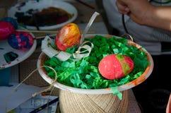 Αυγά Πάσχας για Πάσχα Στοκ φωτογραφία με δικαίωμα ελεύθερης χρήσης