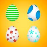 Αυγά Πάσχας Αυγά Πάσχας για τις διακοπές Πάσχας Στοκ Εικόνες