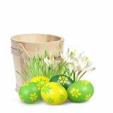 αυγά Πάσχας διακοσμήσεων Στοκ Εικόνες