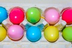 Αυγά Πάσχας διαταγής ουράνιων τόξων ro2 Στοκ φωτογραφία με δικαίωμα ελεύθερης χρήσης