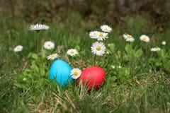 αυγά Πάσχας δύο στοκ εικόνες