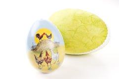 αυγά Πάσχας δύο Στοκ Φωτογραφία